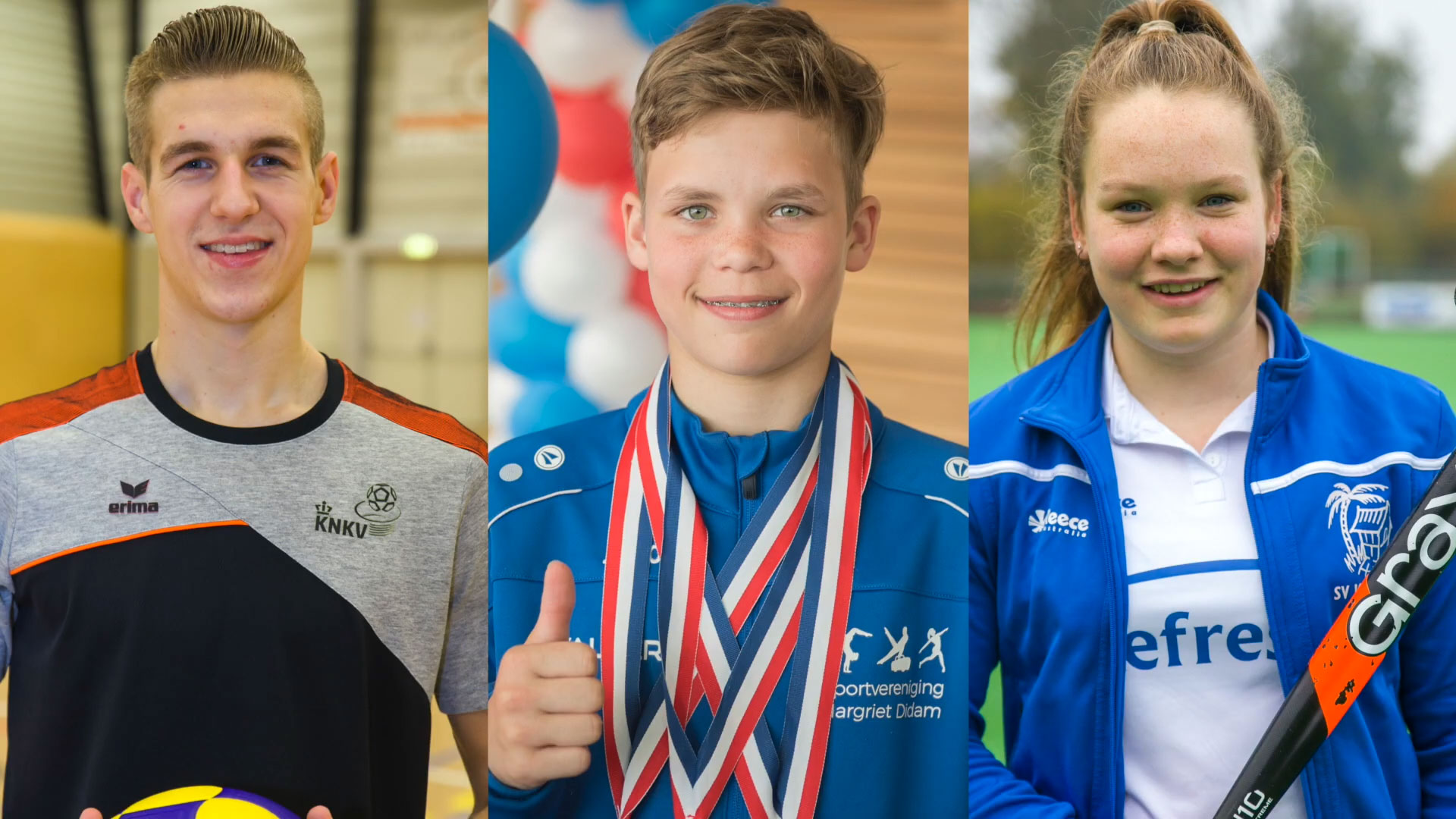 De genomineerden voor Liemerse Sporttalent 2019!