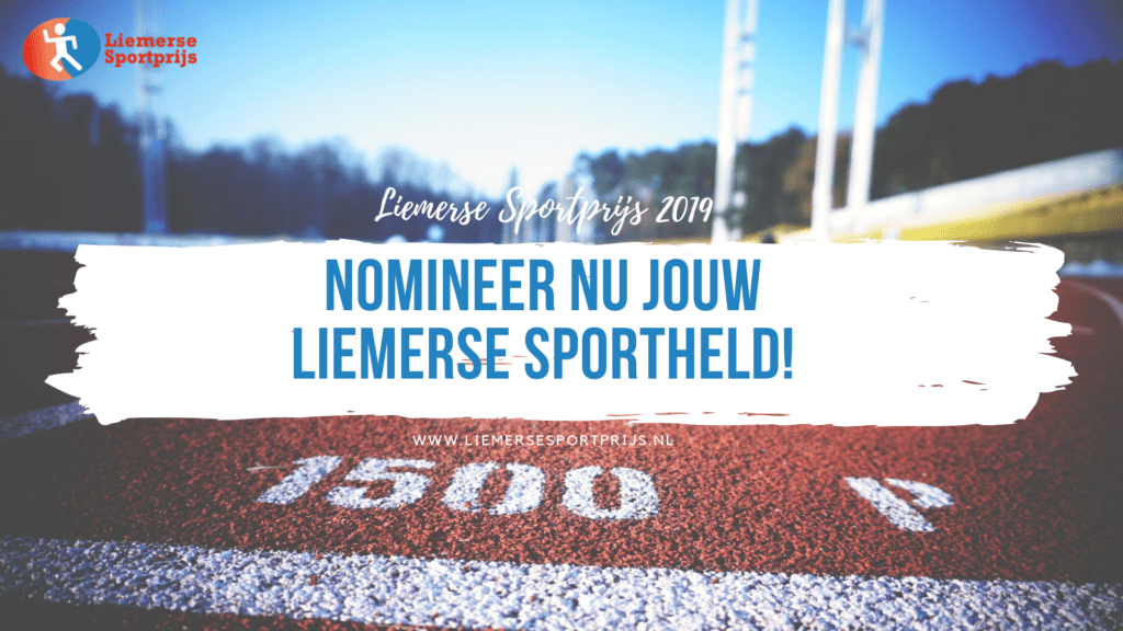 Heb jij je Liemerse sportheld al genomineerd?