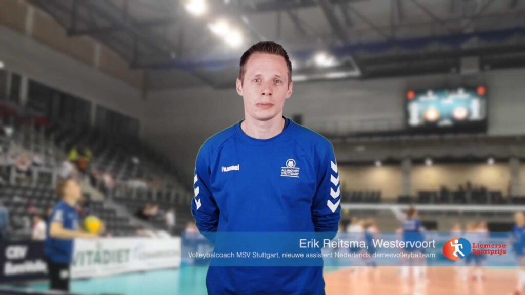 Volleybalcoach Erik Reitsma van MSV Stuttgart over zijn 2020