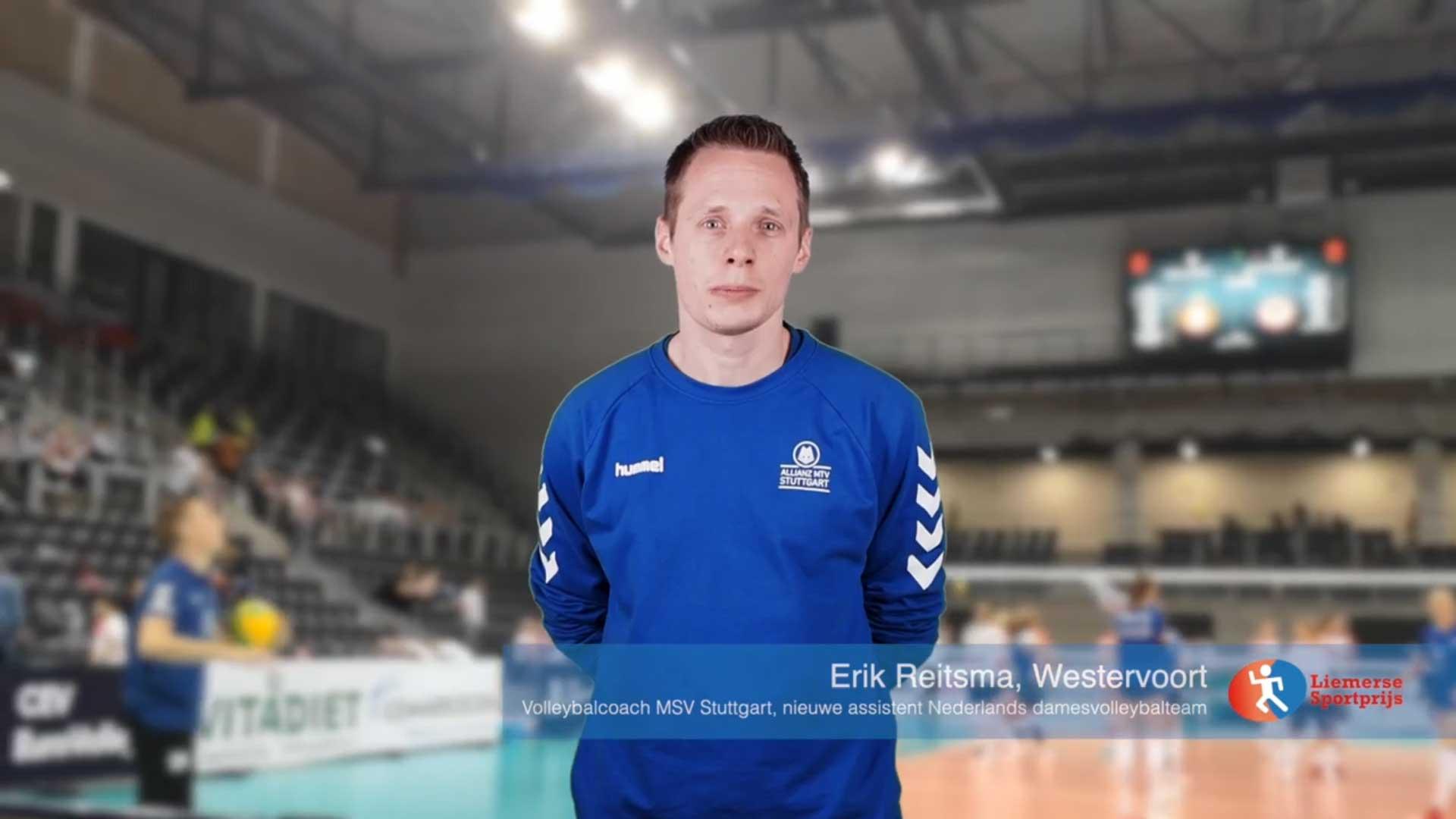 Volleybalcoach Erik Reitsma van MSV Stuttgart over zijn 2020
