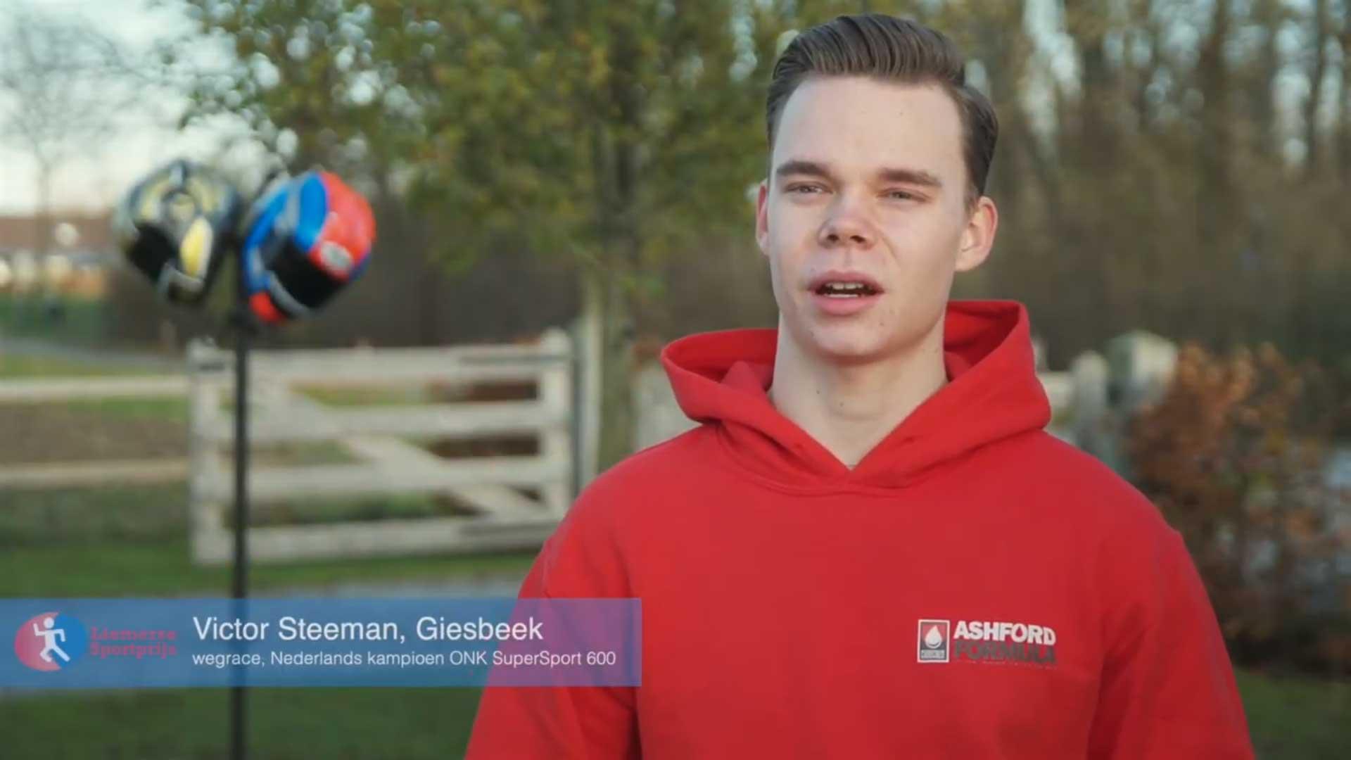 Nederlands Kampioen Victor Steeman over zijn 2020